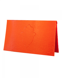 Porte chéquier Epi orange – main de fatma
