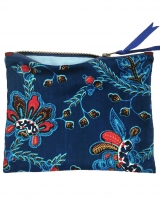 trousse en wax camelia bleu copy